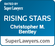 Rated by Super Lawyers, Rising Stars - Christopher M. Bentley